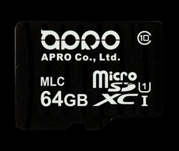APRO Industrial MLC MicroSD Memory Card 8Gb - 64Gb