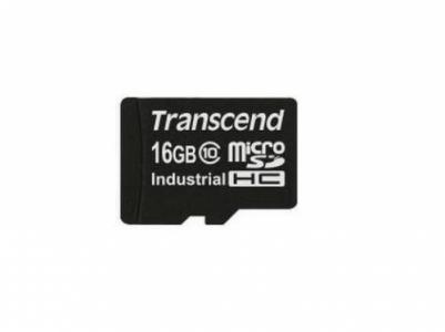 Transcend industrial microSDHC10I SDHC flash card 16 Gb