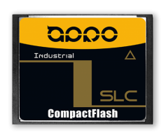 APRO Industrial SLC CompactFlash Card - HERMIT-A Series