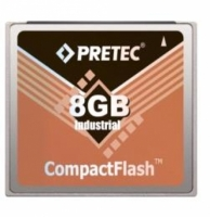 Pretec Compact Flash Card - Lynx Solution 8Gb - 32GB  Industrial HP Series