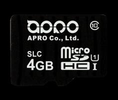 APRO Industrial SLC MicroSD Memory Card 1Gb - 4Gb