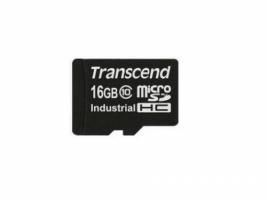 Transcend microSDHC10I SDHC flash card 16 Gb