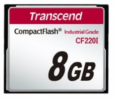 Transcend Compact Flash Card - Industrial series 8 Gb TS8GCF220I