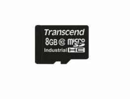 Transcend microSDHC10I SDHC flash card 8 Gb