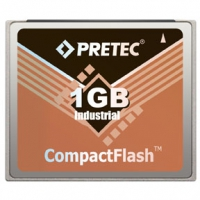 Pretec Compact Flash Card - Lynx Solution 128Mb-32Gb Industrial HR Series